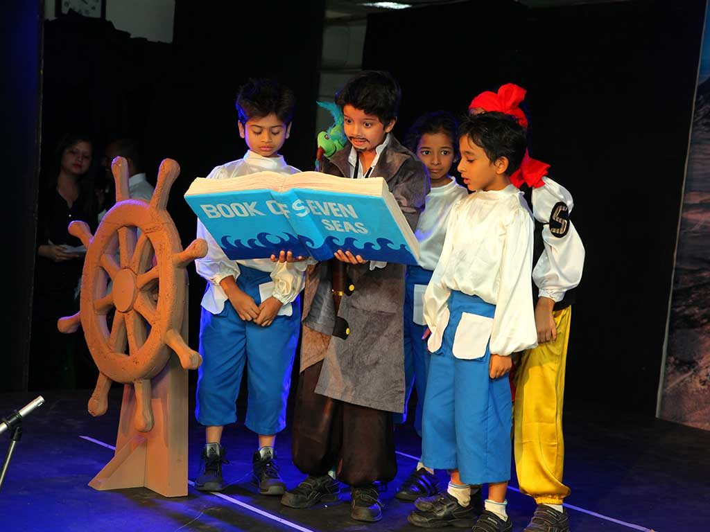 Theatre performance at jbcn oshiwara