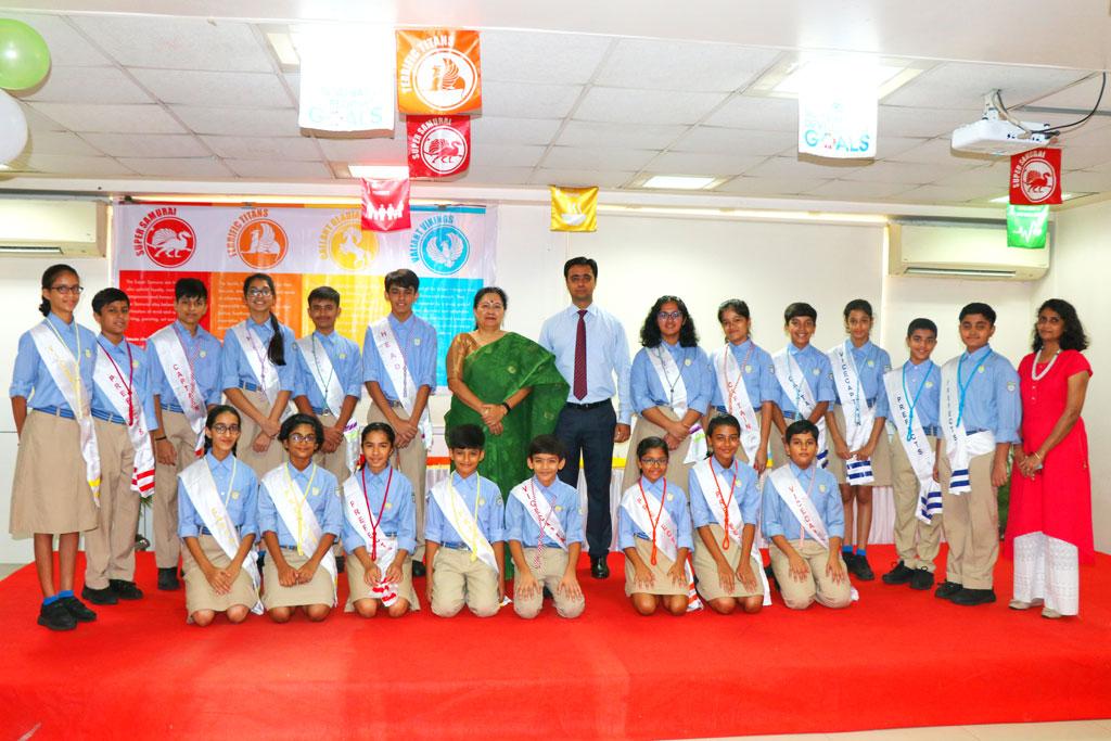 Secondary School Learner Council - JBCN borivali school