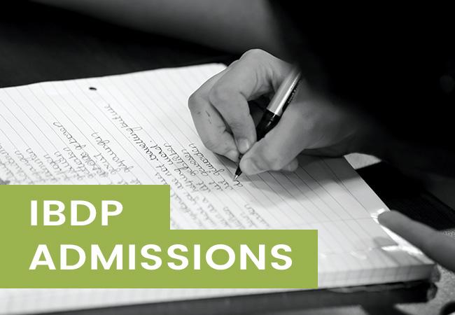 IBDP Admissions