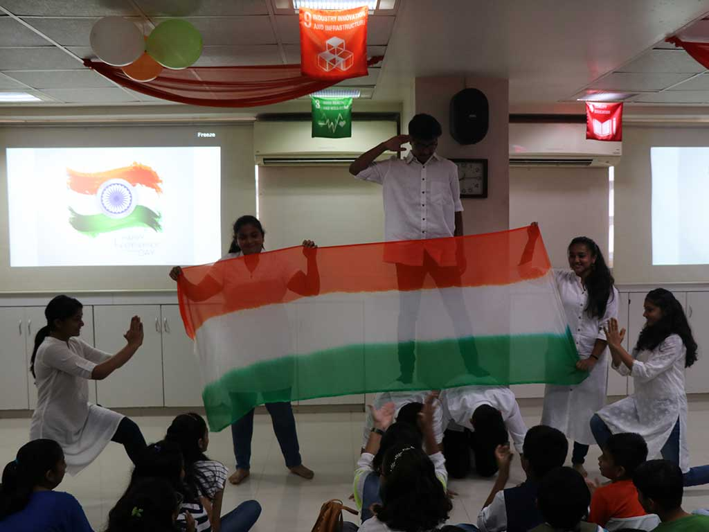 Independence Day celebrations - JBCN International School