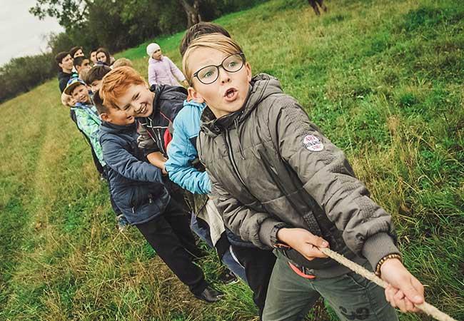 networks children build through school