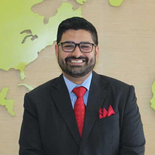 K.V Arjun Rao Principal JBCN international school oshiwara
