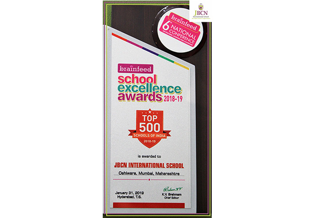 Brainfeed School Excellence Award