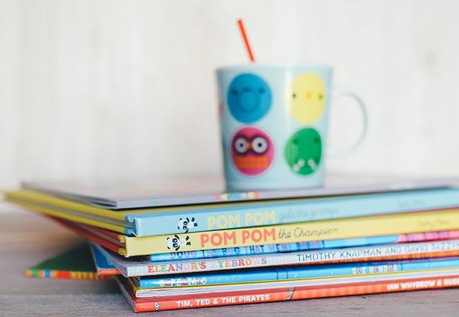 Graphic novels interest older children