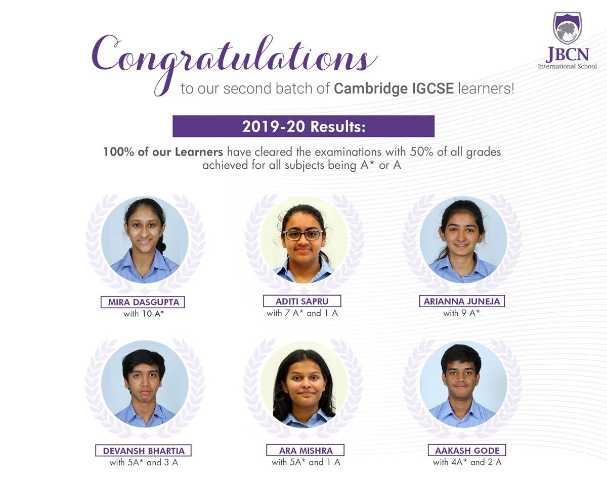 igcse school result oshiwara