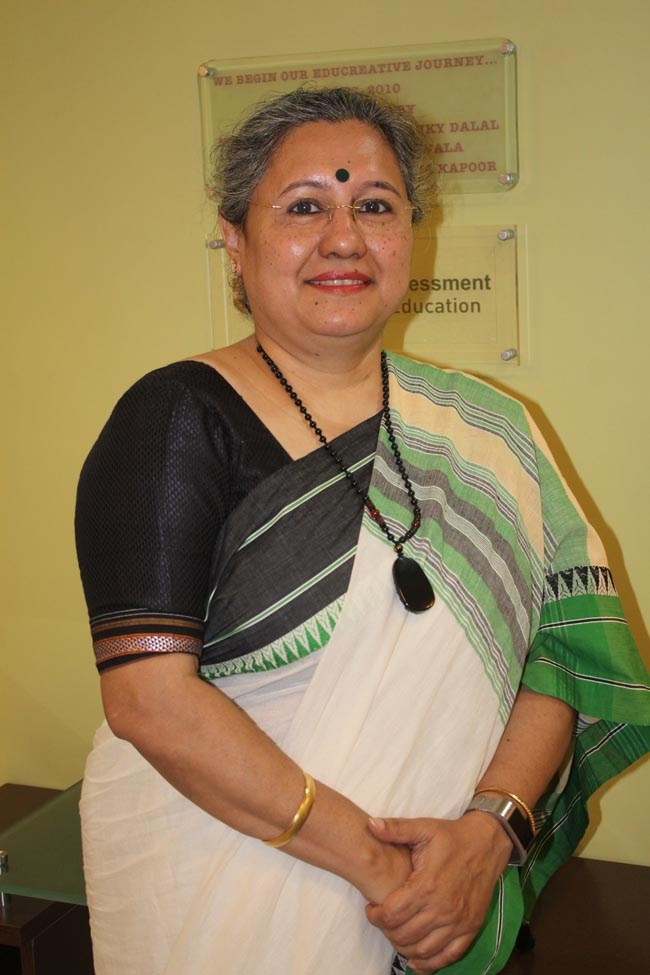Debika Chatterji Principal JBCN international school Borivali